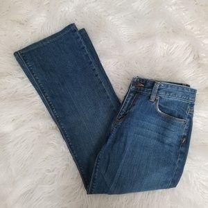Ann Taylor LOFT Denim Jeans Original Boot Size 8 M